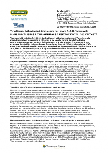 eurosafety_tyohyvinvointi_nwe_2014_lehdistotiedote_mediakutsu_30102014.pdf