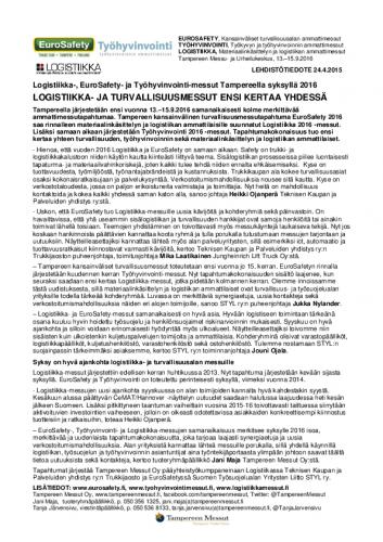 eurosafety_tyohyvinvointi_logistiikka_2016_lehdistotiedote24042015.pdf