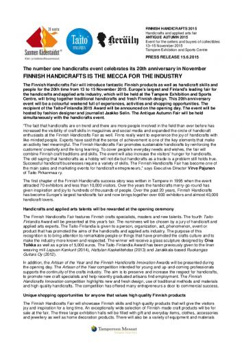 finnishhandicraftsantique_pressrelease15062015.pdf