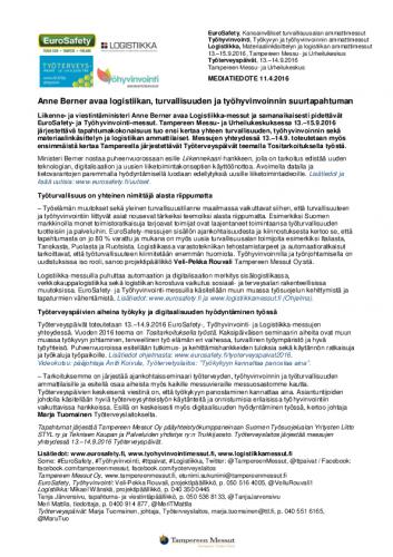 eurosafety_tyohyvinvointi_logistiikka_mediatiedote11042016.pdf