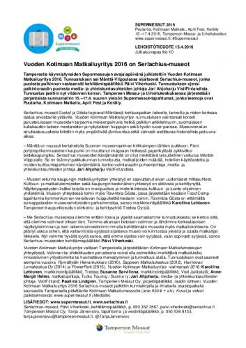 vuodenkotimaanmatkailuyritys2016_supermessut_lehdistotiedote15042016.pdf