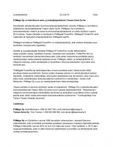 tiaisensahatiedote23.2.2015.pdf