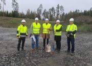 NREP Logicentersin ja Postnord Oy:n uuden lajittelukeskuksen rakentaminen on aloitettu Pirkkalassa