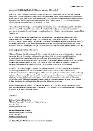 tiedote_pilkingtonmarine_13112013.pdf