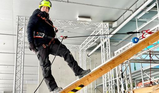 Lumenpudottajien työturvallisuus kuntoon helposti