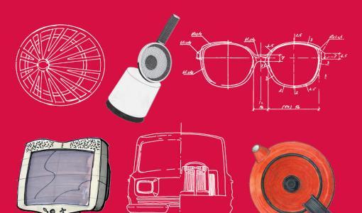 Designarkiston monet muodot -virtuaalinäyttely esittelee muotoilun aarteita