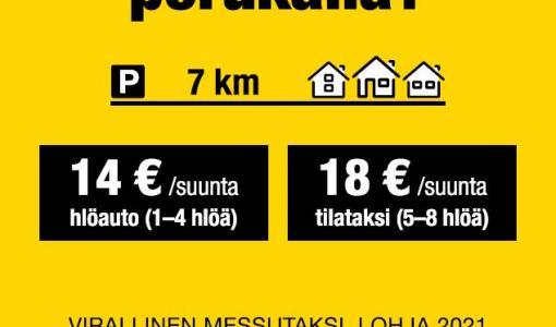 Lähitaksi on Lohjan Asuntomessujen virallinen taksikumppani