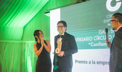 Lumon Espanja sai tunnustusta liiketoiminnan edistämisestä ja laajentamisesta Malagan alueella