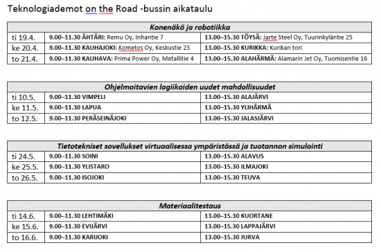 teknologiademot-on-the-road-aikataulu.png