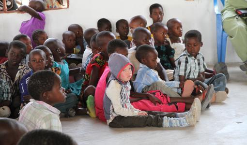 Kyrkan i Tanzania räddar barn med albinism
