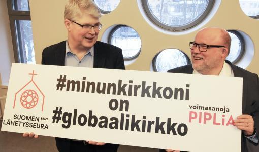 Seurakuntavaalit 2018: Lähetysseura ja Pipliaseura vetoavat globaalin kirkon puolesta