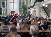 Riemulaulut: Kolmannen adventin ja loppiaisen televisiojumalanpalvelukset Lähetyskirkosta