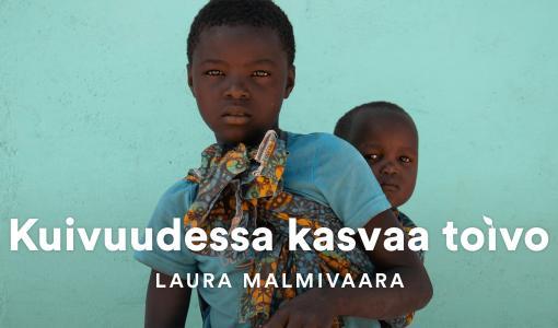 Laura Malmivaaran valokuvanäyttely: Toivon kuvia tansanialaisista naisista ja tytöistä - Kuivuudessa kasvaa toivo -näyttely Sanomatalon Käytävägalleriassa 17.-23.12.2018