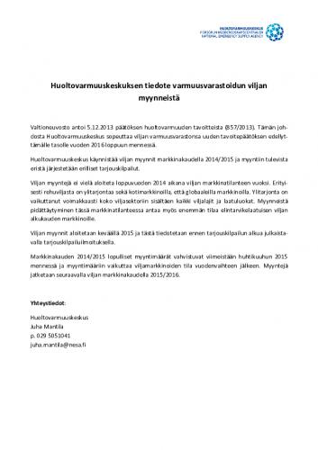 2014-10-06_hvk-tiedote_varmuusvarastoidun_viljan_myynti.pdf