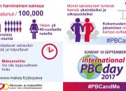 PBC on huonosti tunnettu maksasairaus – PBC-päivä 10.9.2017