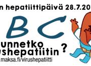 Maailman hepatiittipäivä 28.7.2018: Onko unelmamatkasi tuliainen A- tai B-hepatiitti?