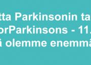 VALTAKUNNALLINEN PARKINSON-VIIKKO 10.–16.4. – 200 V. PARKINSONIN TAUDIN HISTORIAA 11.4. Maailman Parkinson-päivän yleisötapahtuma Finlandia-talossa – #UniteForParkinsons