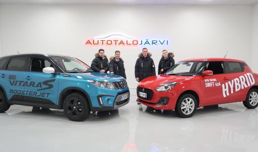 Autotalo Järvelle Suzuki-edustus myös Kaakonkulmalle