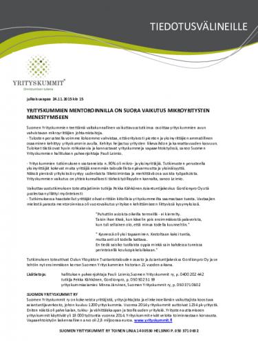 lehdistotiedote-syk-vaikuttavuustutkimus-2015.pdf