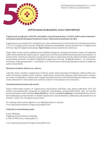 tiedote_leppavaaran-seurakunta-juhlii-viisikymppisia.pdf