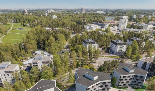 Skanska aloittaa tähtitalojen rakennustyöt Espoon Tapiolassa