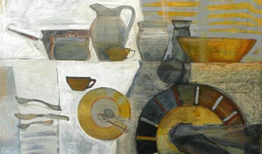 Puolalaisen Tatiana Misijukin taidetta Valamossa, Via Finlandia kerännyt jo 13 000 kävijää