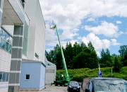 Tampere-talon katolle rakennettiin aurinkovoimala
