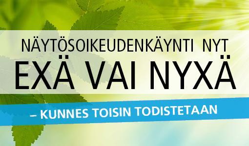 Asianajajaliitto mukana SuomiAreenalla 16.7.2018 - Tule ja testaa oikeustajusi!