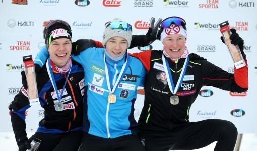 Eero Hirvonen yhdistetyn Suomen mestariksi Ounasvaaralla