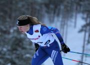 Anita Korva taisteli kuudenneksi Skandinavia-cupin vapaan sprintissä