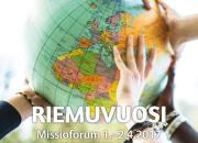 Riemuvuosi - Missioforum 2017