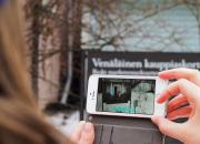 Opasteet heräävät eloon Suomenlinnassa lisätyn todellisuuden avulla