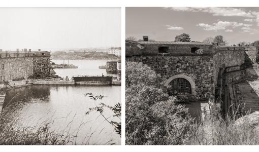Valokuvanäyttely esittelee Suomenlinnan muutosta sadan vuoden aikana