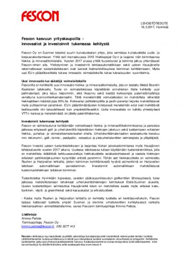 lehdisto-cc-88tiedote-fescon-kasvuun-yrityskaupoilla-innovaatiot-ja-investoinnit-tukemassa-kehitysta-cc-88docx.pdf