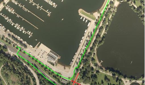 Jalkarannan alikulkukäytävän remontti muuttaa kevyen liikenteen reittejä