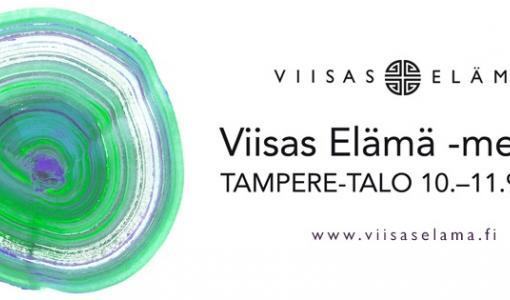 Viisas Elämä -messujen laaja luentotarjonta ja kymmenet näytteilleasettajat kiinnostivat Tampereella