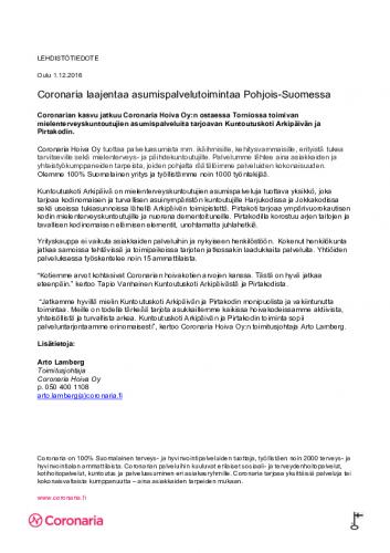 coronaria-arkikoti-ja-pirtakoti-tiedote-1.12.2016.pdf