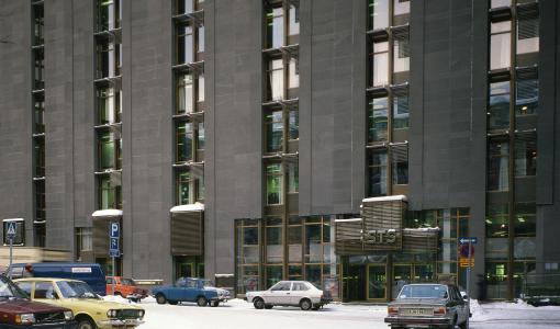 KHO on aloittanut väistötiloissaan helmikuun alussa/Högsta förvaltningsdomstolen har i början av februari inlett sin verksamhet i tillfälliga utrymmen