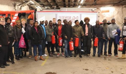 Maahanmuuttajien toiminta turvallisuuskouluttajina palkittiin vuoden turvallisuustekona