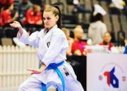 Bess Mänty taisteli tiensä pronssiotteluun Nuorten Karaten EM-kilpailuissa Venäjän Sochissa