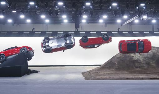 Jaguarin uusi E-PACE hyppäsi Guinnessin maailmanennätykseen