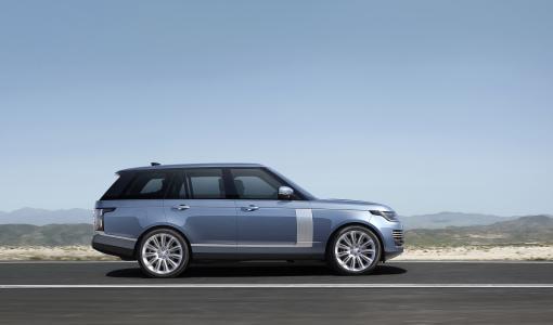 Uudistunut Range Rover - äänetöntä luksusta