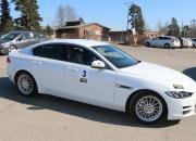 Jaguar taloudellisuusajon voittoon