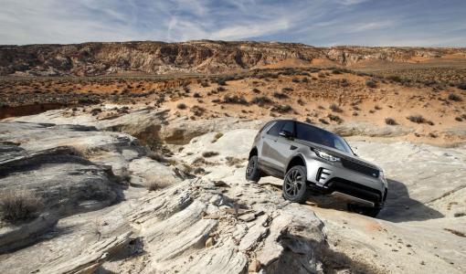 Land Rover tekee autonomisen maastoajoneuvon
