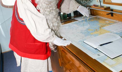 Joulupukin Satamakonttori avattiin Kemiin