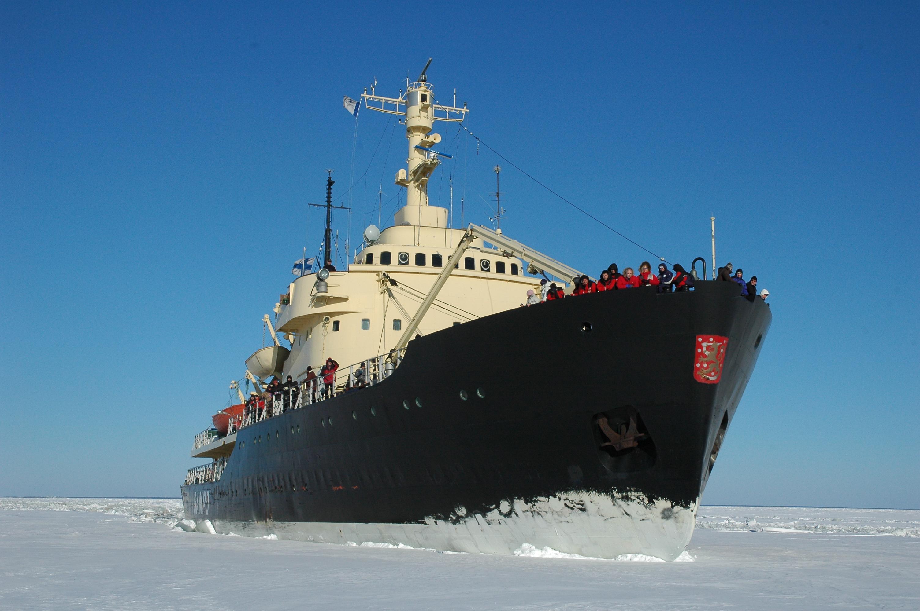 Icebreaker Cruises for 30 years in Kemi, Finland - ePressi  Icebreaker Crui...