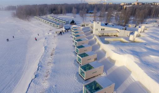 Kemi SchneeSchloss 2018 - Tiere aus Nah und Fern bevölkern das SchneeSchloss im kommenden Winter