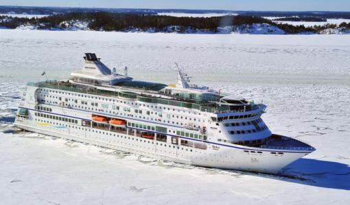 Joulupukin satamaan Kemiin saapuu jouluaattona valtameriristeilijä M/S Birka