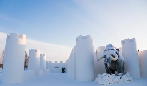 SnowCastle of Kemi opened the doors to Winter Wonderland