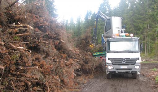 Puupolttoaineiden kulutus vahvassa kasvussa, hakkeen laahaa, turpeen laskee